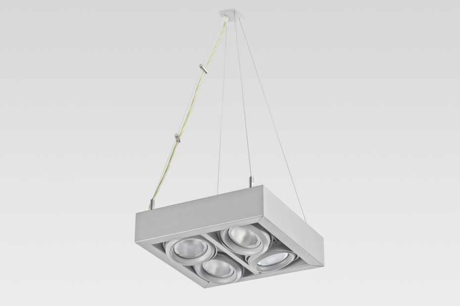 Ladder suspension lamp 4x4