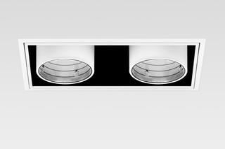 Yori rectangular with bezel  by  Reggiani