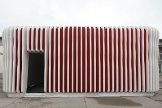 cast, fibreC Pavilion  by  Rieder