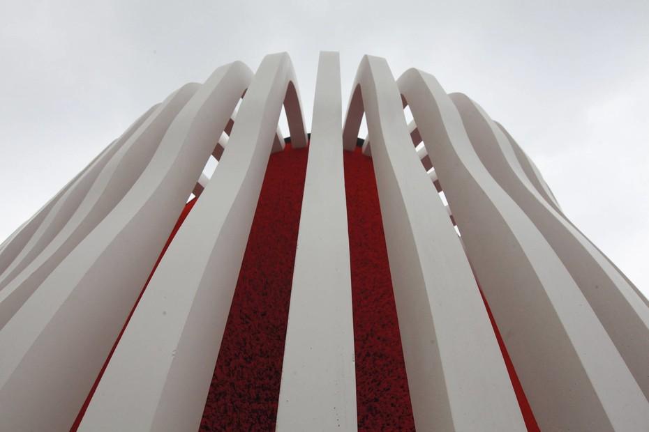 cast, fibreC Pavilion