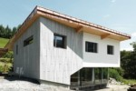 öko skin, single family home St. Georgen, silvergrey  by  Rieder