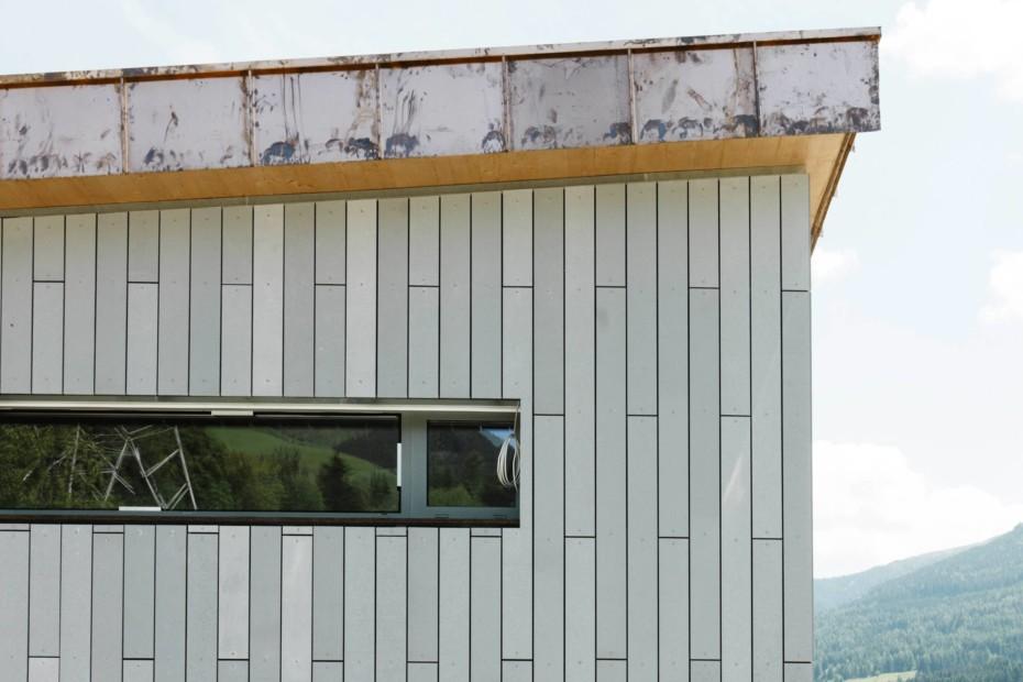 öko skin, single family home St. Georgen, silvergrey