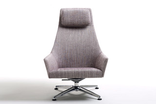 Sketch Lounge with high backrest  by  Arco