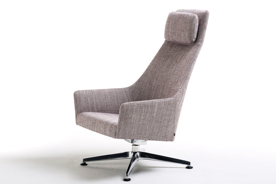 Sketch Lounge with high backrest