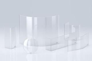 ROBAX® glass-ceramic fire viewing panels  by  SCHOTT