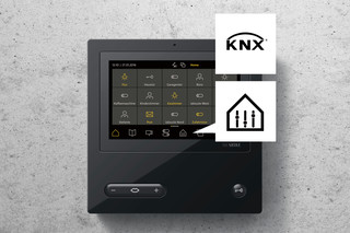 Access-Video-Panel mit KNX  von  Siedle