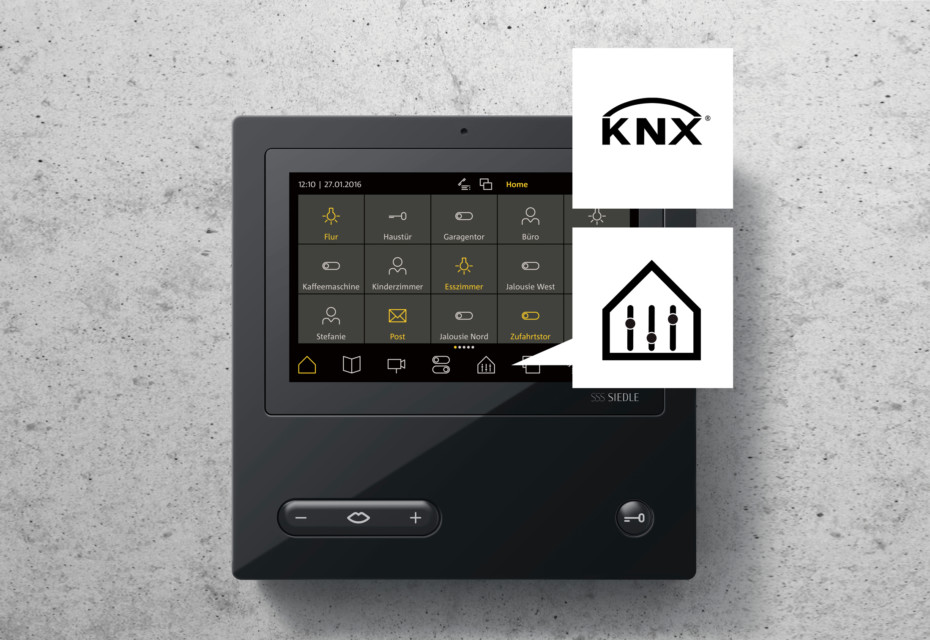 Access-Video-Panel mit KNX