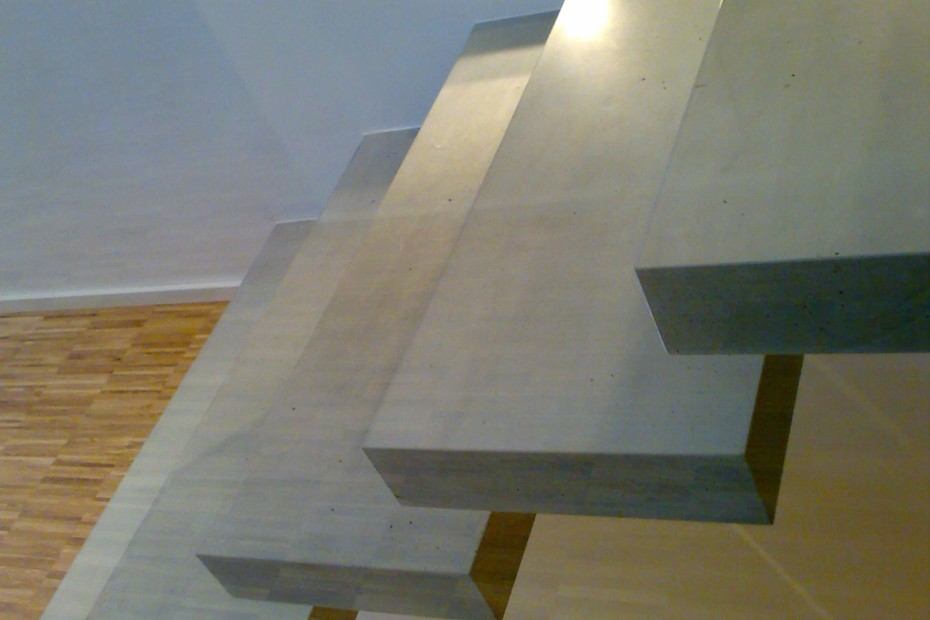 Kragarmtreppe Beton