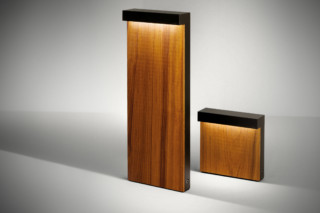 Look Wood bollard  by  SIMES