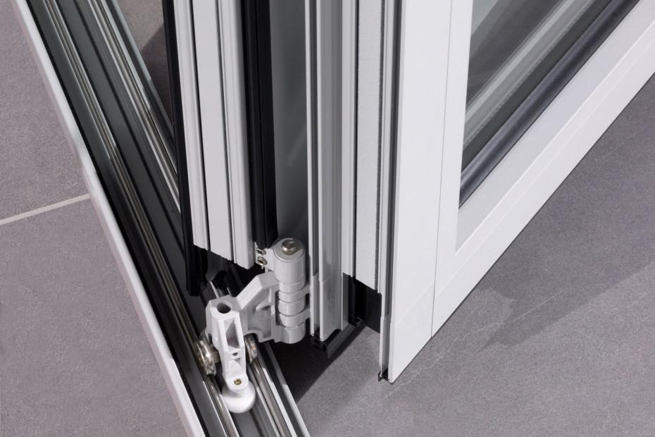 SL 60e als Balkonverglasung