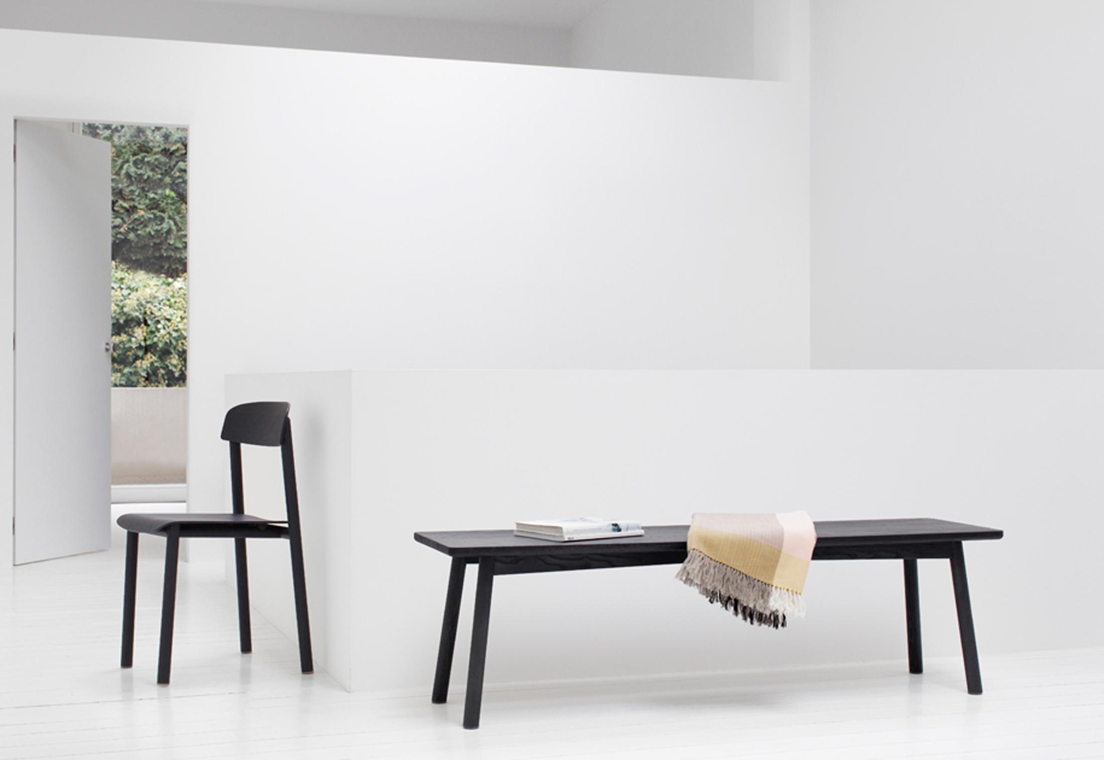 profile bench by stattmann neue moebel stylepark. Black Bedroom Furniture Sets. Home Design Ideas