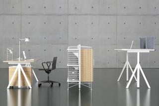 string® works desk  by  string furniture