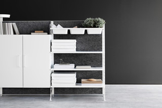 string® works freestanding shelf  von  string furniture