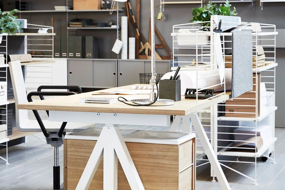 string® works freestanding shelf