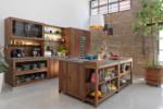 loft kitchen  by  TEAM 7