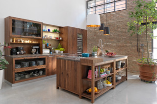 loft kitchen  by  TEAM 7