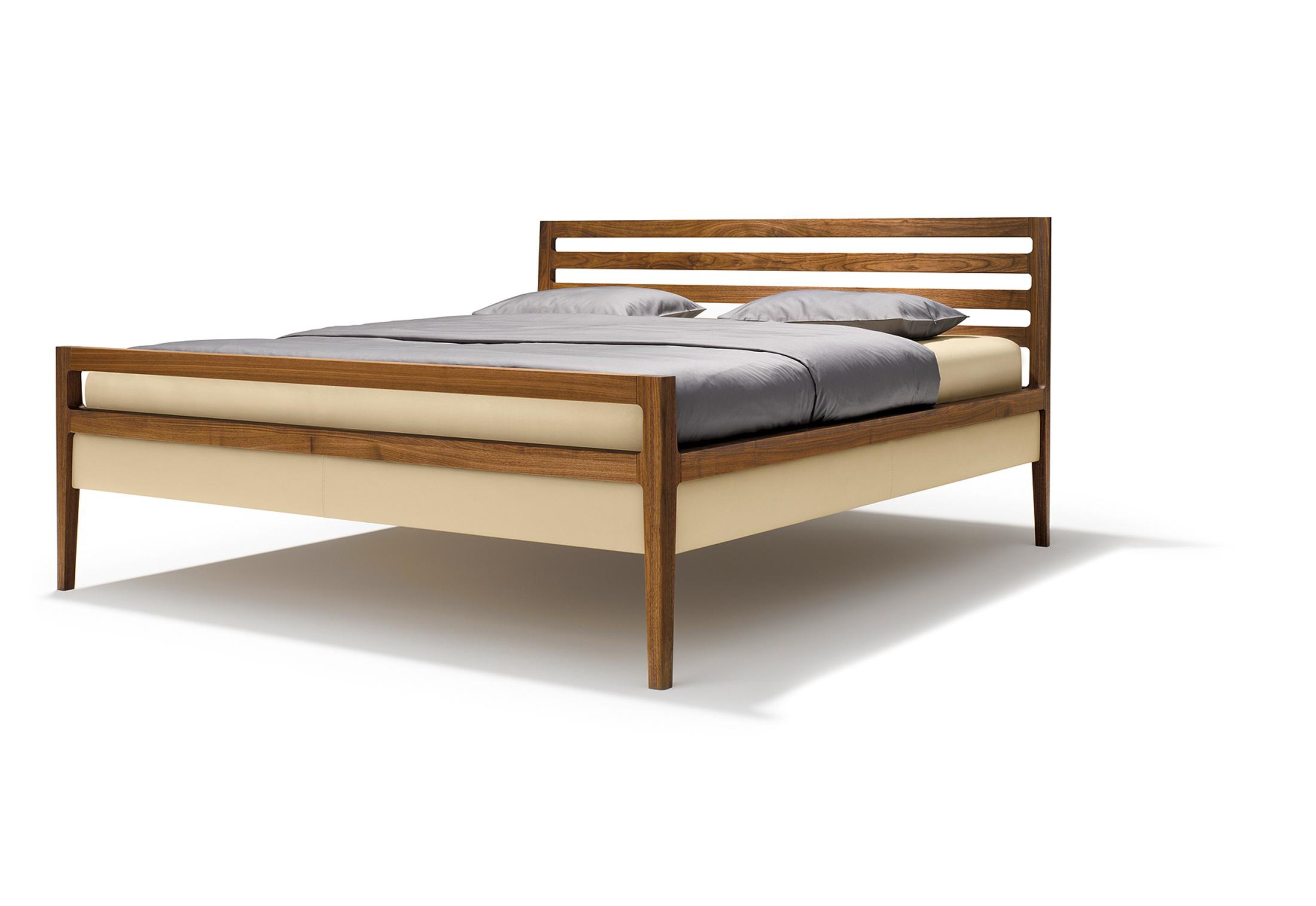 mylon bett von team 7 stylepark. Black Bedroom Furniture Sets. Home Design Ideas