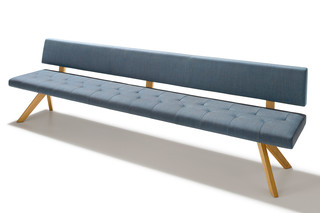 yps bench with backrest  by  TEAM 7