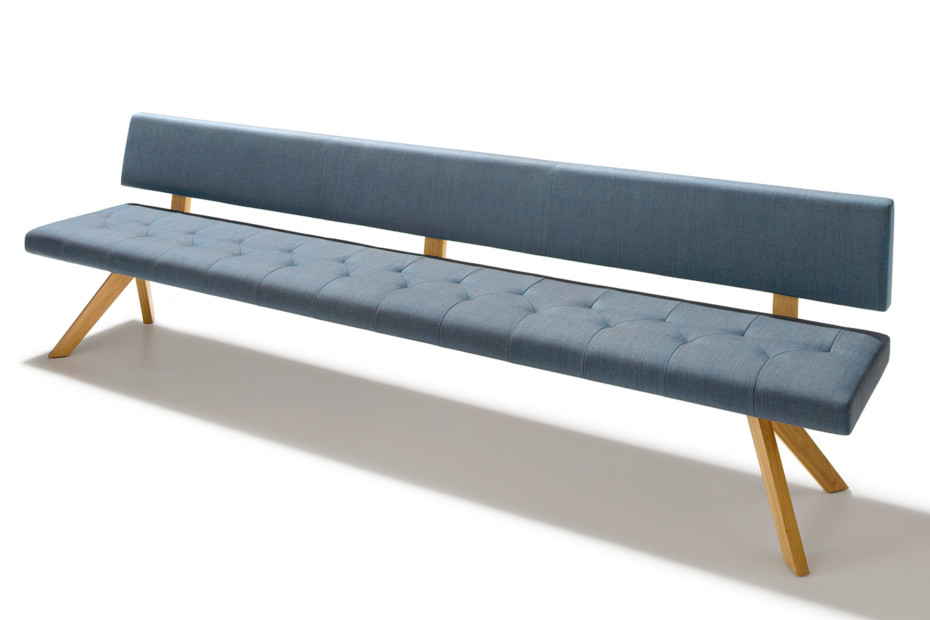 Yps Bench With Backrest By Team 7 Stylepark