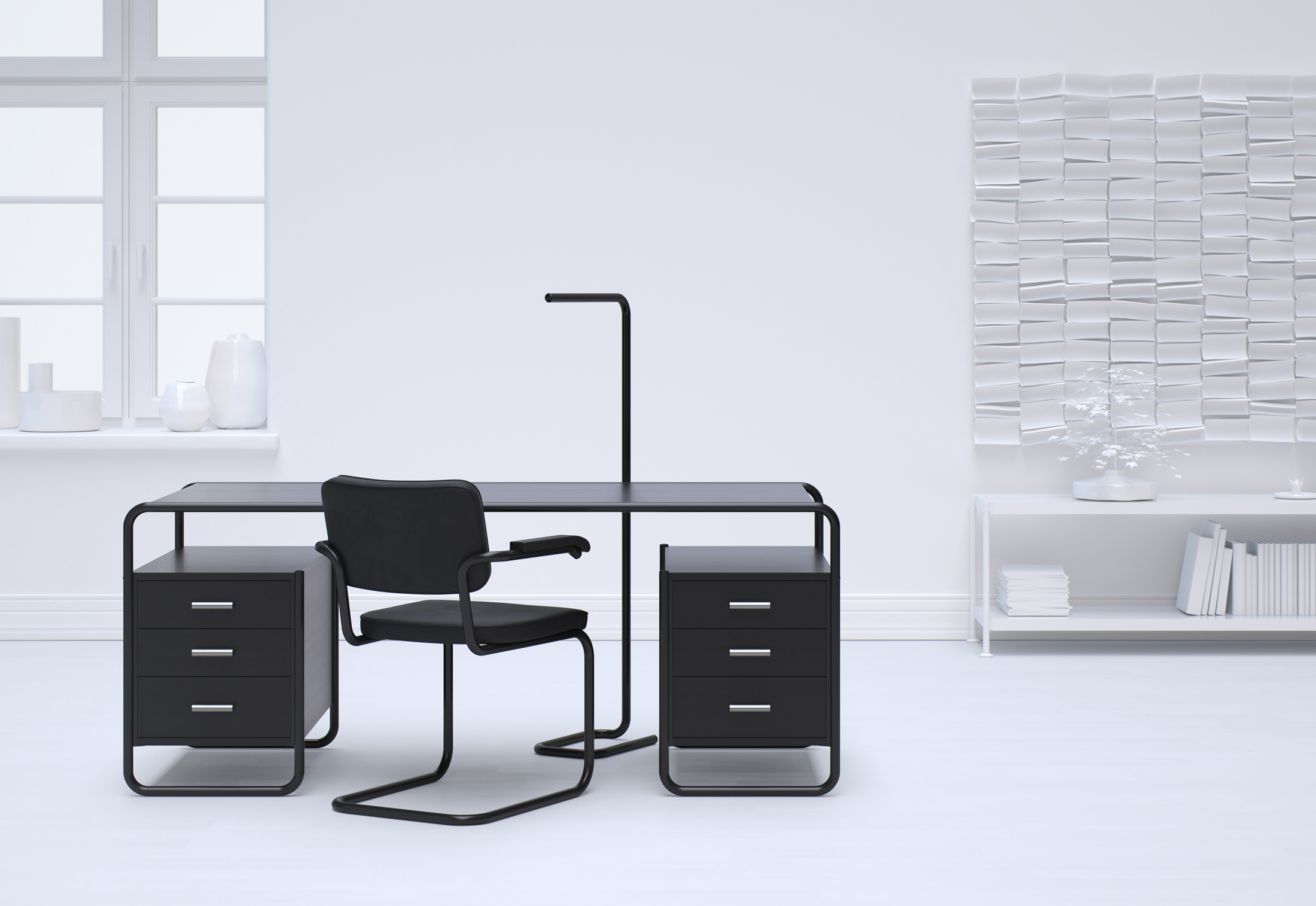 s 285 5 by thonet stylepark. Black Bedroom Furniture Sets. Home Design Ideas