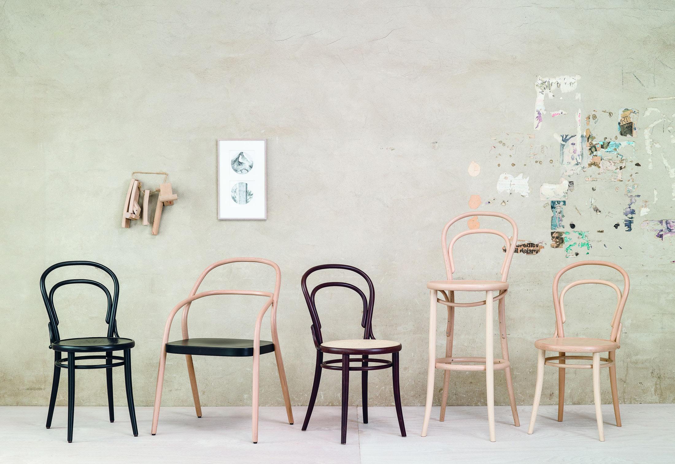 14 stuhl von ton stylepark. Black Bedroom Furniture Sets. Home Design Ideas