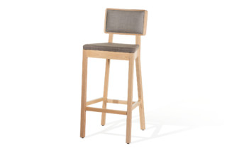 Cordoba bar stool upholstered  by  TON