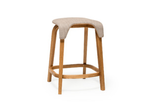 Leaf bar stool upholstered  by  TON