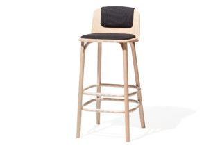 Split bar stool upholstered  by  TON