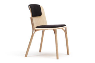 Split chair upholstered  by  TON