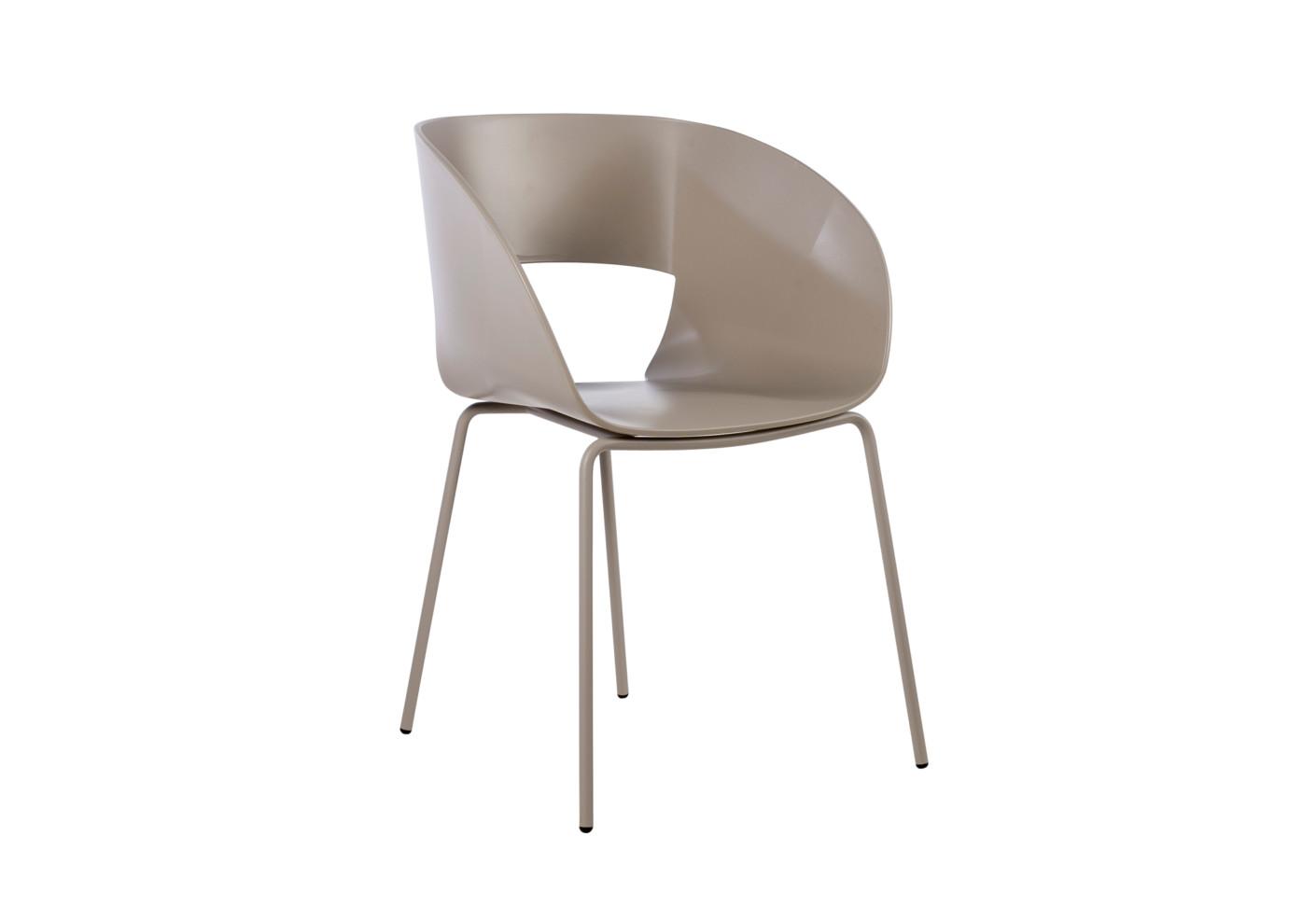 Vintage Stuhl Mit Metallbeinen Von Tribù