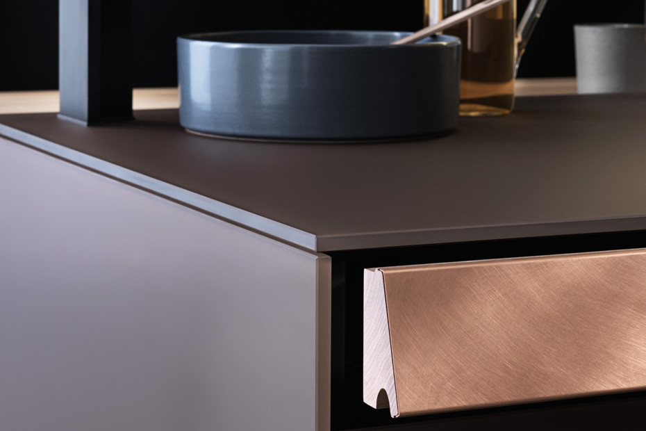 Genius Loci with copper drawer