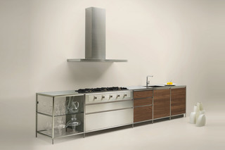 Meccanica with iron frames  by  Valcucine