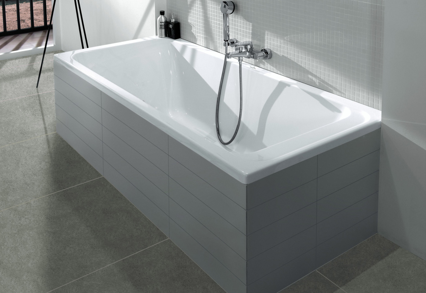 badewanne architectura von villeroy boch bad wellness stylepark. Black Bedroom Furniture Sets. Home Design Ideas