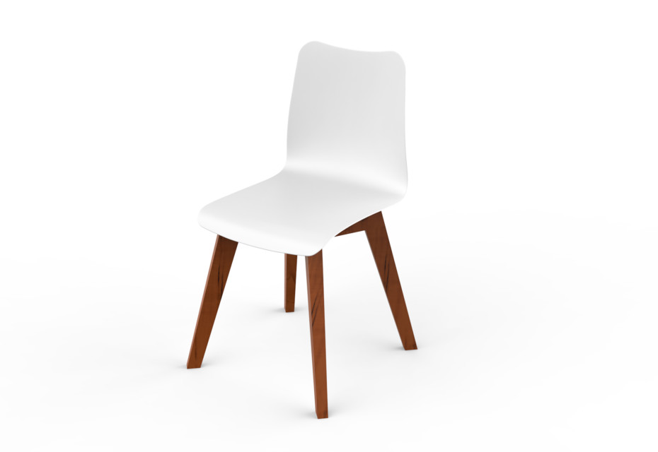 Slim Wood Chair