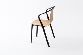 Belleville armrest chair  by  Vitra