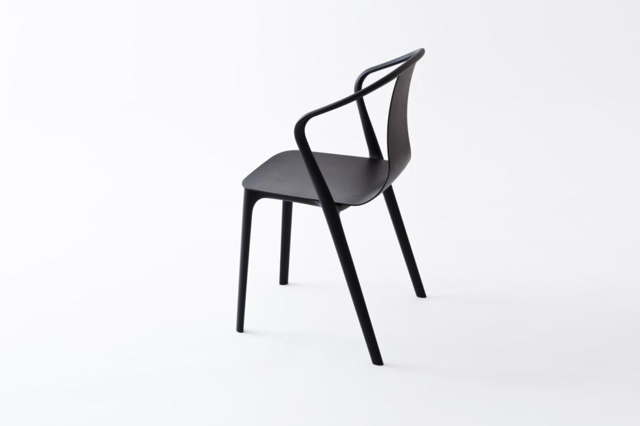 Belleville armrest chair