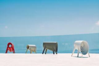 Bum Bum stool  by  VONDOM