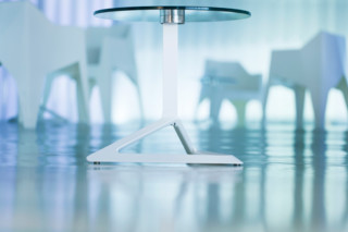 Delta table with glass top  by  VONDOM