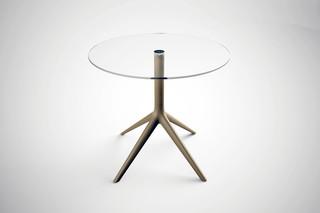 Mari-Sol glass table  by  VONDOM