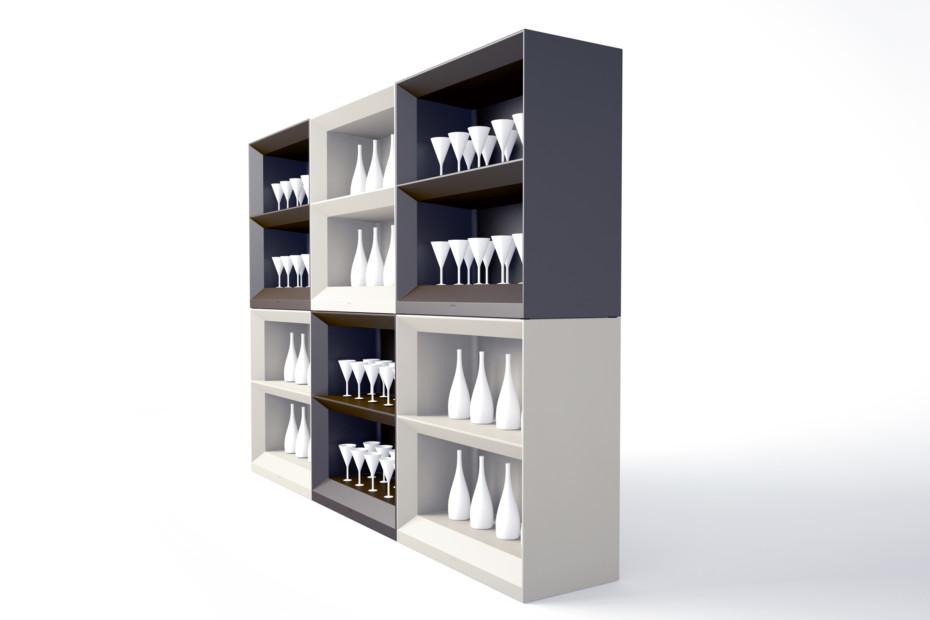 Vela shelving system