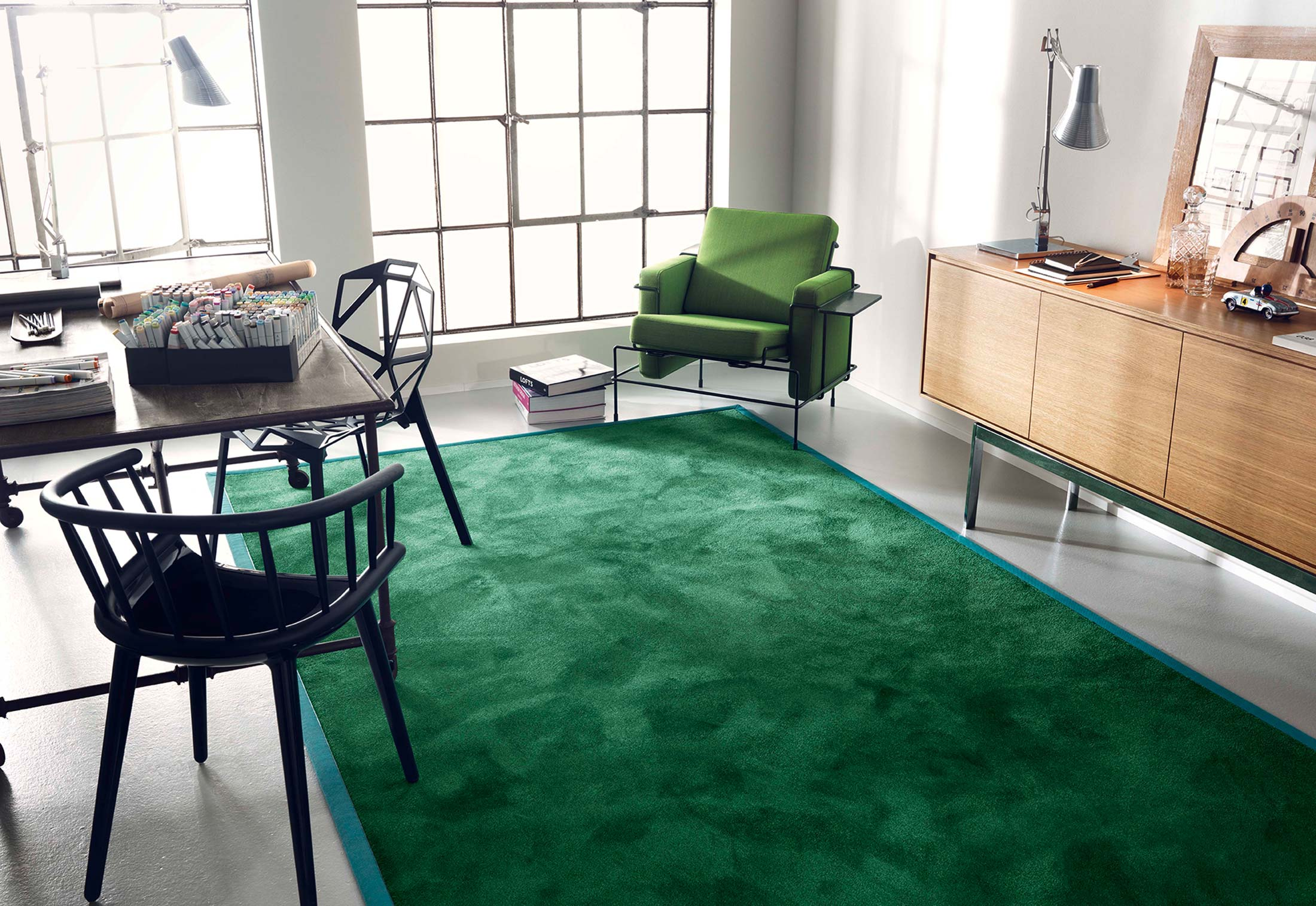selected rugs von vorwerk stylepark. Black Bedroom Furniture Sets. Home Design Ideas