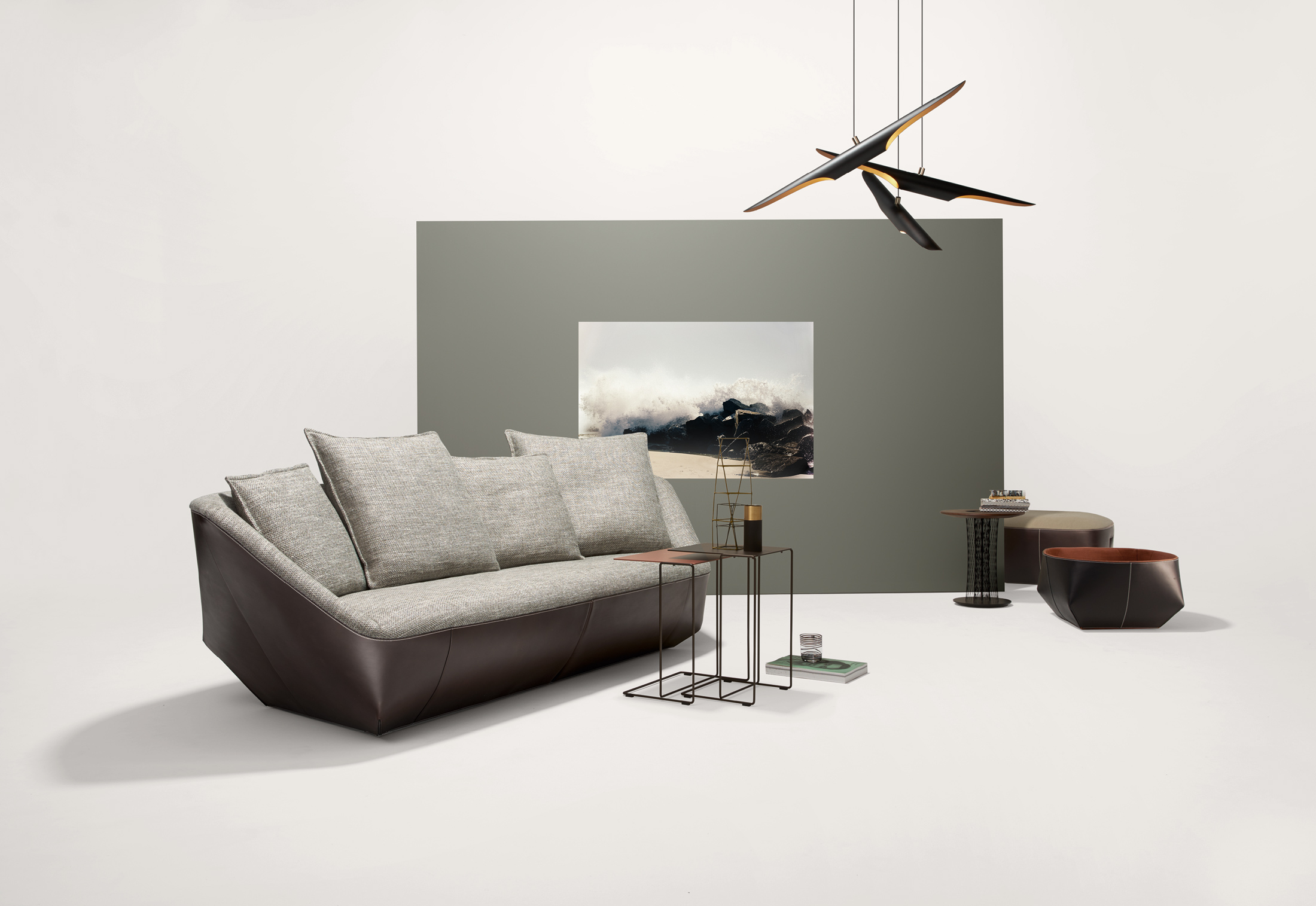 isanka sofa von walter knoll stylepark. Black Bedroom Furniture Sets. Home Design Ideas