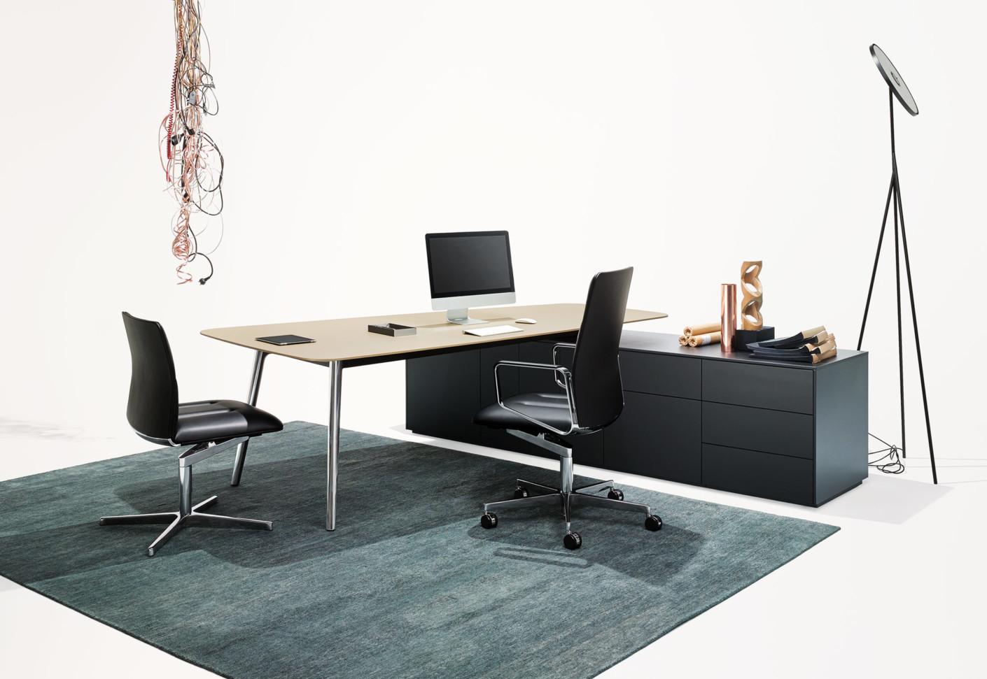 keypiece communication desk by walter knoll stylepark. Black Bedroom Furniture Sets. Home Design Ideas