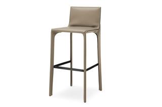Saddle Chair Barstuhl mit Rückenlehne  von  Walter Knoll