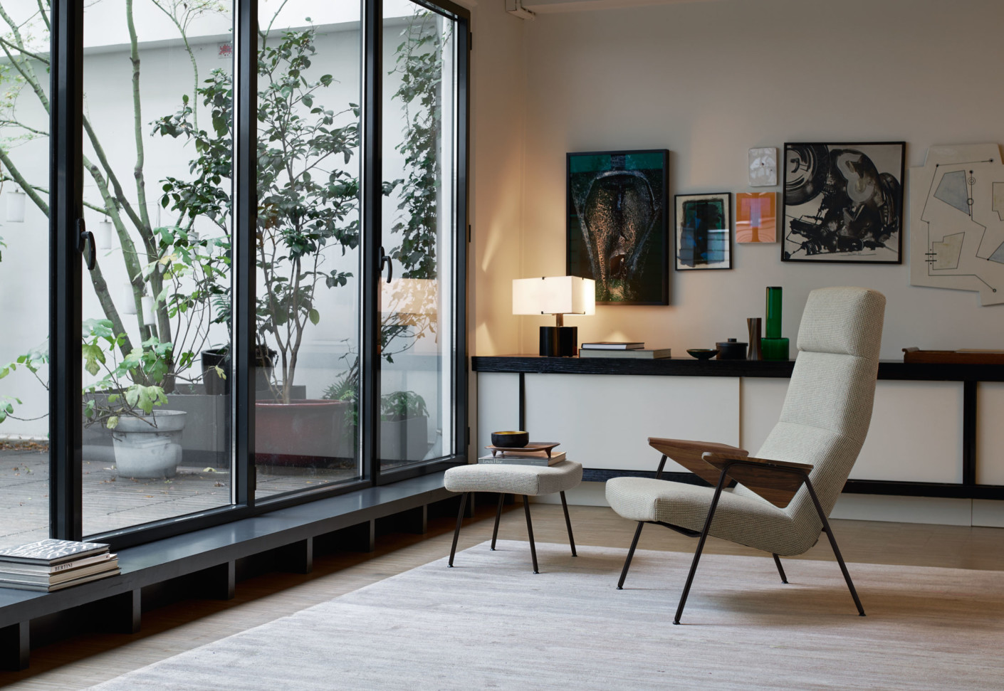 votteler chair high back by walter knoll stylepark. Black Bedroom Furniture Sets. Home Design Ideas