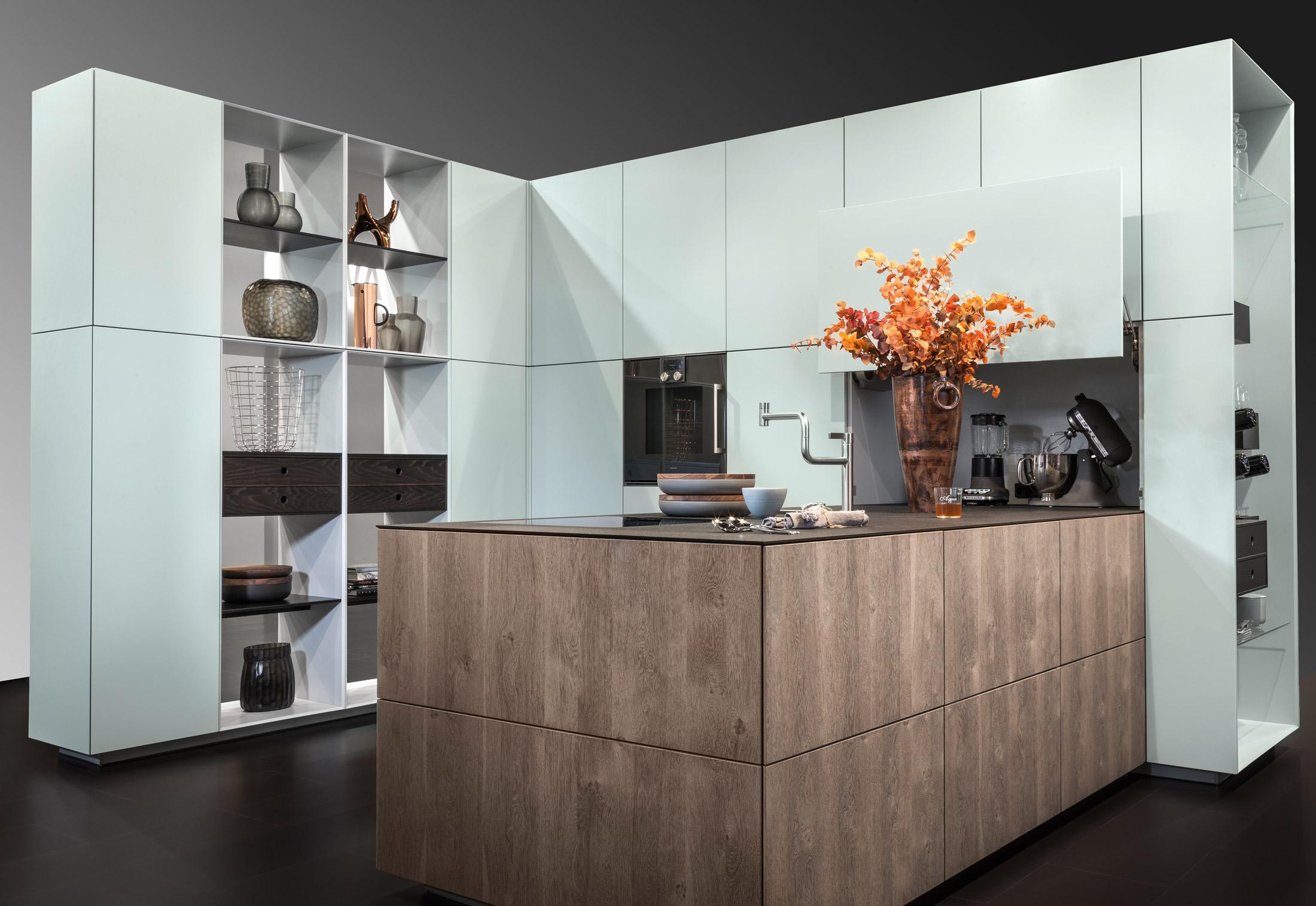 livingkitchen m bel definieren den raum von warendorf stylepark. Black Bedroom Furniture Sets. Home Design Ideas