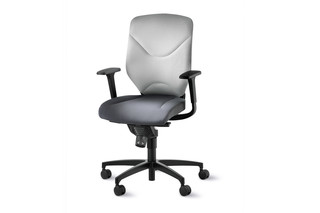 IN 3D swivel chair 184-7 with double formstrick  by  Wilkhahn