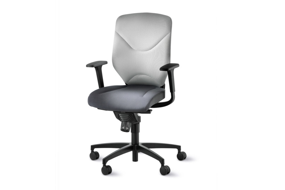 IN 3D swivel chair 184-7 with double formstrick