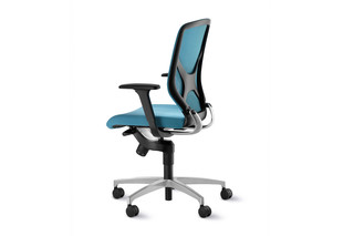 IN 3D swivel chair 184-7 with formstrick  by  Wilkhahn