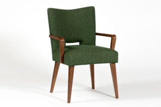 Schwadron Dining Chair with armrests  by  Wohnkultur 66